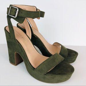 Madden Girl Halee Platform Heeled Sandals